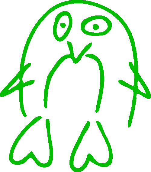 Pinguin EDV-Linzbauer grün