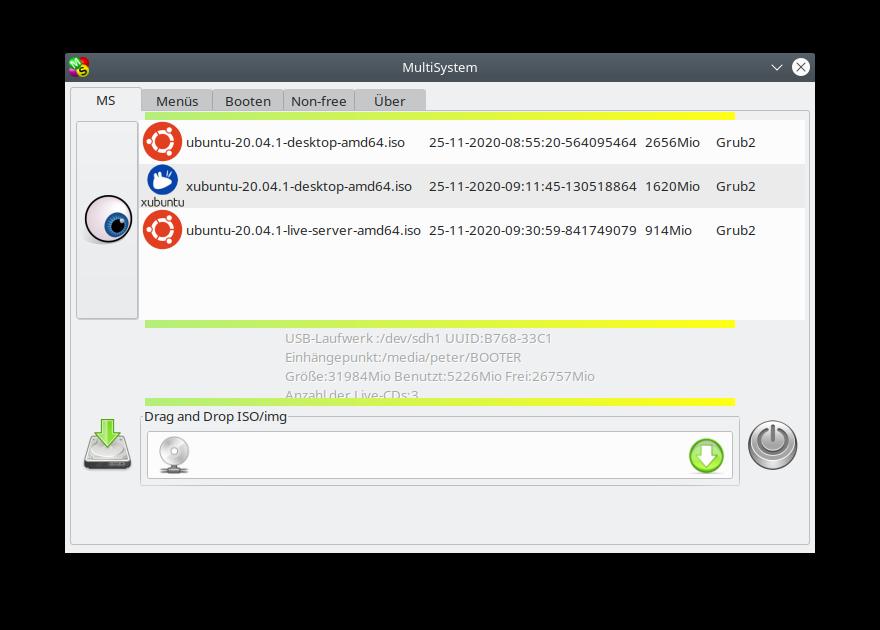MultiSystem Linux
